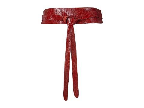 ADA COLLECTION クラシック ラップ ベルト バッグ サスペンダー レディース 【 Obi Classic Wrap Belt 】 Cherry Croco