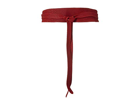 ADA COLLECTION クラシック ラップ ベルト バッグ サスペンダー レディース 【 Obi Classic Wrap Belt 】 Scarlet Python