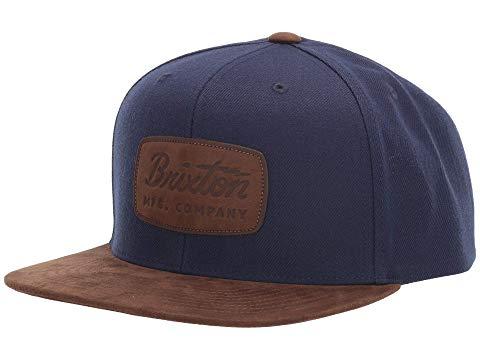 ブリクストン BRIXTON スナップバック バッグ キャップ 帽子 メンズキャップ メンズ 【 Jolt Snapback 】 Washed Navy/bison