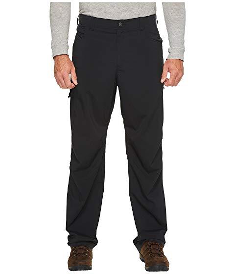 コロンビア COLUMBIA 銀色 シルバー 黒 ブラック & 【 SILVER BLACK COLUMBIA BIG TALL RIDGE STRETCH PANTS 】 メンズファッション ズボン パンツ