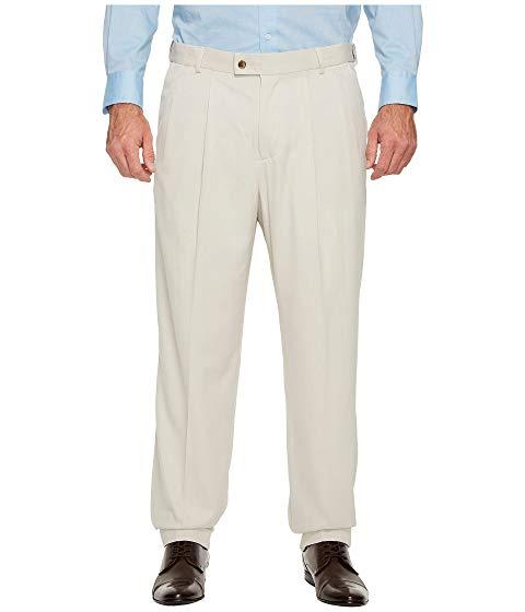 【海外限定】ドレス メンズファッション ズボン 【 BIG AND TALL DOUBLE PLEAT MELANGE PORTFOLIO DRESS PANTS 】