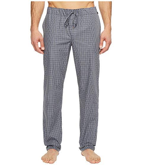 HANRO ナイト ウーブン 【 WOVEN NIGHT AND DAY LOUNGE PANTS GREY CHECK 】 メンズファッション ズボン パンツ 送料無料