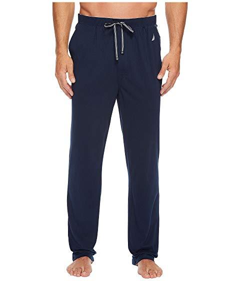 NAUTICA ニット 紺 ネイビー 【 NAVY NAUTICA KNIT SLEEP PANTS MARITIME 】 メンズファッション ズボン パンツ