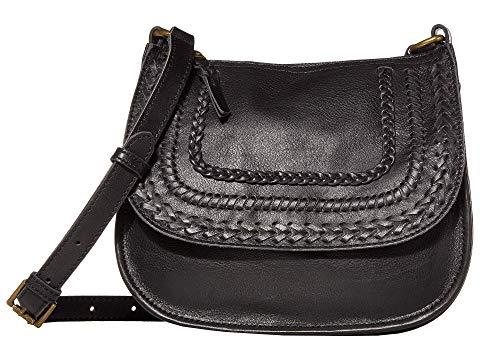 THE SAK レザー バッグ レディース 【 Playa Leather Saddle Bag 】 Black Braid