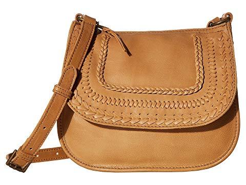 THE SAK レザー バッグ レディース 【 Playa Leather Saddle Bag 】 Scotch Braid