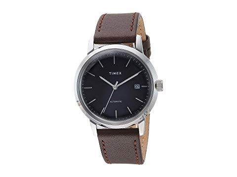 TIMEX タイメックス 黒 ブラック 銀色 シルバー 【 BLACK SILVER TIMEX MARLIN AUTOMATIC 】 腕時計 メンズ腕時計