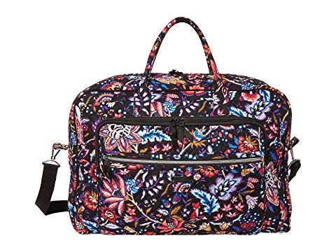 VERA BRADLEY グランド バッグ レディース 【 Iconic Grand Weekender Travel Bag 】 Foxwood