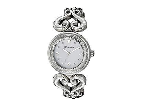 ブライトン BRIGHTON 銀色 シルバー 【 SILVER BRIGHTON W41120 GENOA HEART TIMEPIECE 】 腕時計 レディース腕時計