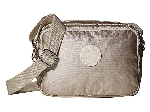 KIPLING カメラ バッグ レディース 【 Silen Crossbody Camera Bag 】 Cloud Metal