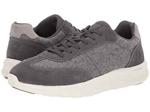 HUSH PUPPIES スニーカー メンズ 【 Slater Sneaker 】 Dark Grey Wool/suede