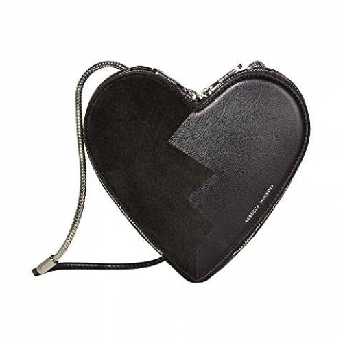 REBECCA MINKOFF バッグ レディース 【 Heart Crossbody 】 Black/black