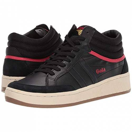 GOLA ハイ スニーカー メンズ 【 Championship High 】 Black/red/sun