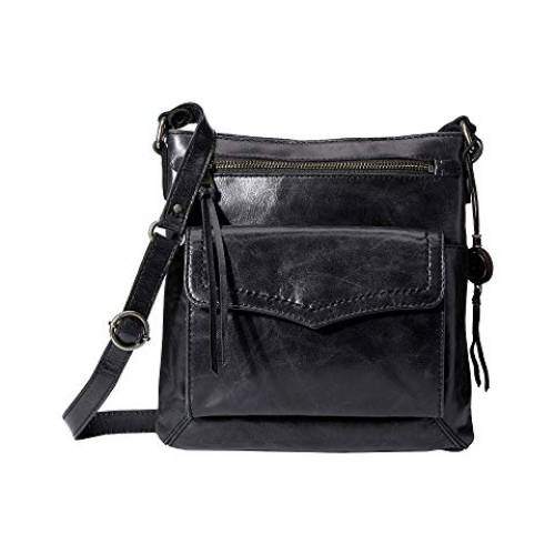 THE SAK レザー バッグ レディース 【 Ventura Leather Flap Organizer Crossbody 】 Black