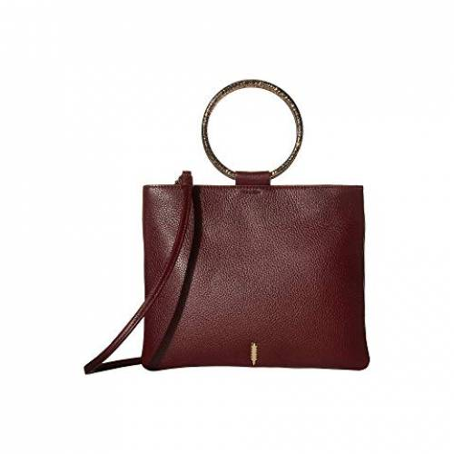 THACKER バッグ レディース 【 Le Pouch Hammered Crossbody 】 Maroon