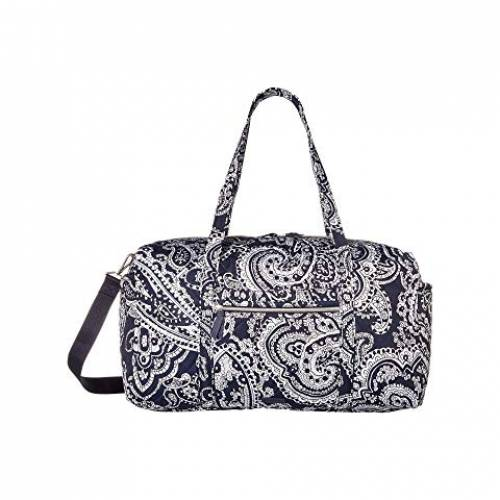 VERA BRADLEY ダッフル バッグ レディース 【 Iconic Large Travel Duffel 】 Deep Night Paisley Neutral