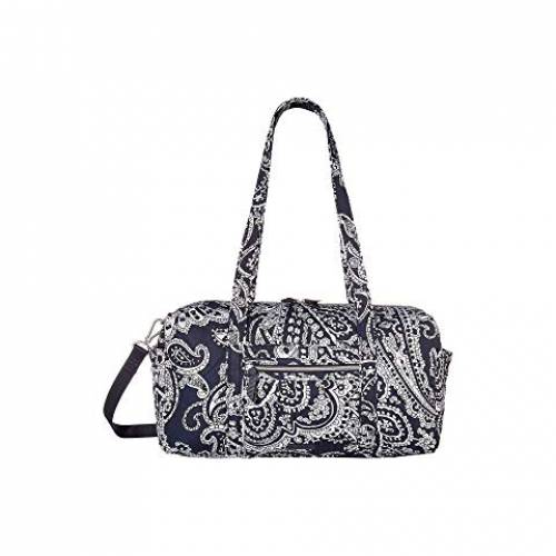 VERA BRADLEY パフォーマンス ダッフル バッグ レディース 【 Iconic Performance Twill Small Travel Duffel 】 Deep Night Paisley Neutral