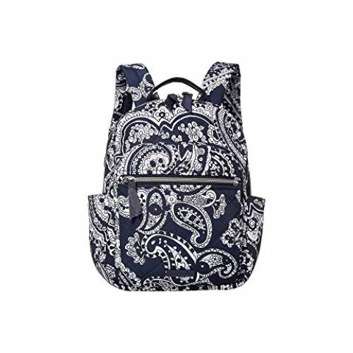 VERA BRADLEY パフォーマンス バックパック バッグ リュックサック レディース 【 Iconic Performance Twill Small Backpack 】 Deep Night Paisley Neutral