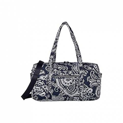 VERA BRADLEY パフォーマンス ダッフル バッグ レディース 【 Iconic Performance Twill Medium Travel Duffel 】 Deep Night Paisley Neutral