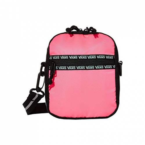 バンズ VANS バッグ レディース 【 After Dark Crossbody 】 Knockout Pink/black