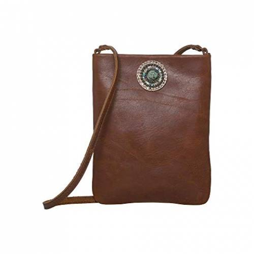 LEATHEROCK バッグ レディース 【 Pandora Cell Pouch 】 Brown