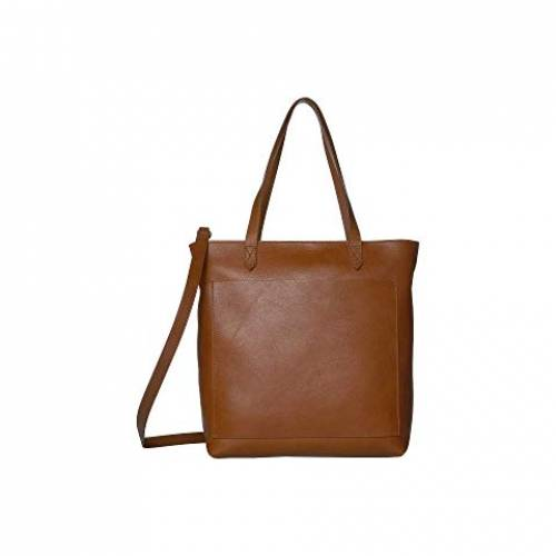 MADEWELL バッグ レディース 【 The Medium Transport Tote W/ Inset Zipper 】 English Saddle