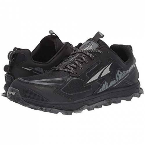 アルトラフットウエア ALTRA FOOTWEAR 4.5 スニーカー メンズ 【 Lone Peak 4.5 】 Black