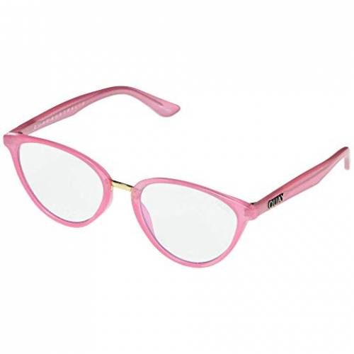 QUAY AUSTRALIA バッグ 眼鏡 レディース 【 Rumors 】 Pink/clear Blue Light