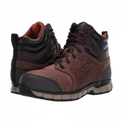 REEBOK WORK サブライト スニーカー メンズ 【 Sublite Cushion Work 】 Brown