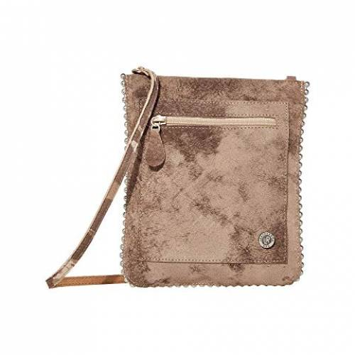 LEATHEROCK バッグ レディース 【 Edith Cell Pouch 】 Camo Taupe