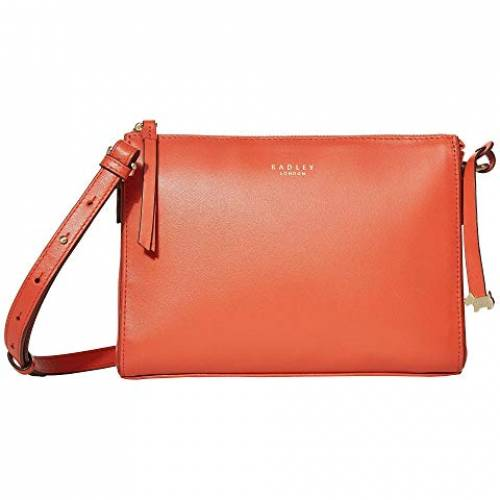 RADLEY LONDON ストリート バッグ レディース 【 Selby Street - Small Zip Top Crossbody 】 Flame