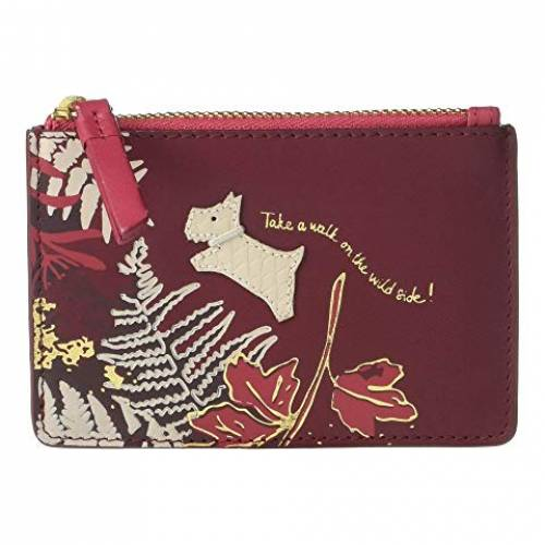 RADLEY LONDON ワイルド コイン バッグ レディース 【 Wild Side - Small Zip Top Coin Purse 】 Merlot