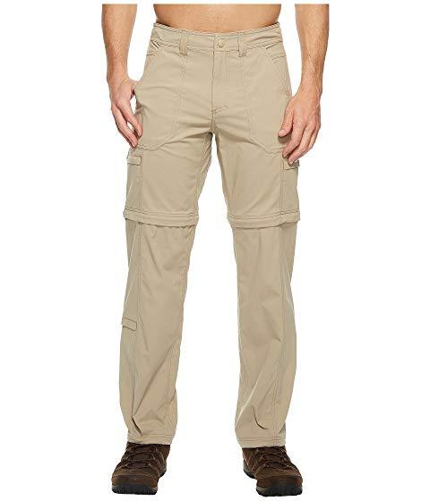 ROYAL ROBBINS カーキ N' 【 ROYAL ROBBINS TRAVELER ZIP GO PANTS KHAKI 】 メンズファッション ズボン パンツ