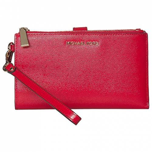 MICHAEL MICHAEL KORS バッグ レディース 【 Jet Set Double Zip Wristlet 】 Bright Red