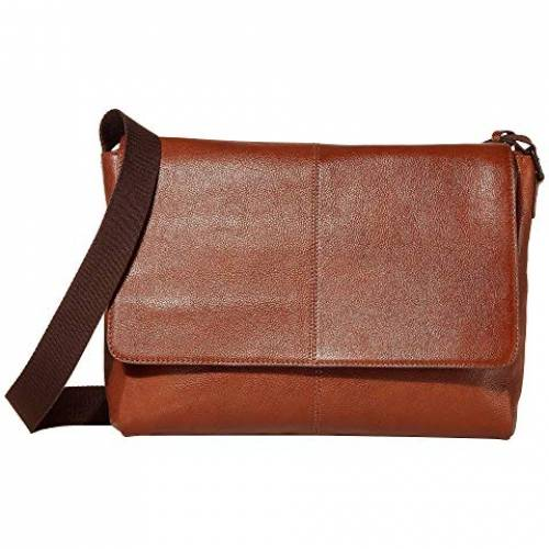 SCULLY バッグ ユニセックス 【 Dannie Messenger Bag 】 Tan