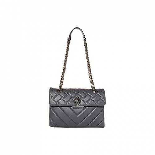KURT GEIGER LONDON レザー バッグ レディース 【 Leather Kensington Crossbody Bag 】 Grey