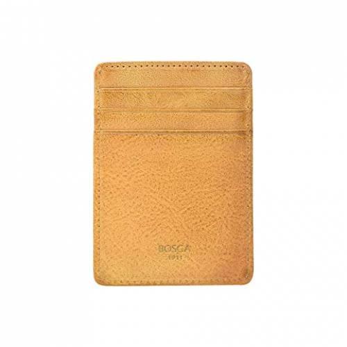 ボスカ BOSCA ウォレット 財布 バッグ メンズ 【 Rfid Waxy Burnishing Front Pocket Wallet 】 Tan