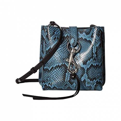 REBECCA MINKOFF バッグ レディース 【 Megan Mini Feed Bag 】 Cement Blue
