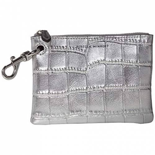 REBECCA MINKOFF バッグ レディース 【 Clip Pouch 】 Silver