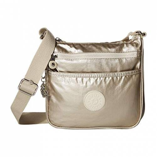 KIPLING バッグ レディース 【 Jordan Crossbody Bag 】 Cloud Metal