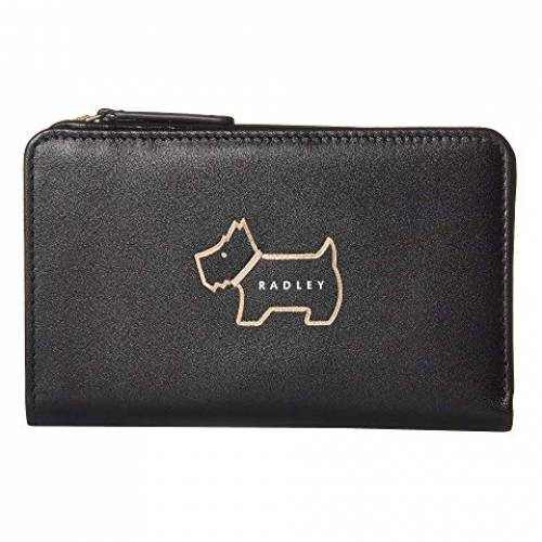 RADLEY LONDON バッグ レディース 【 Heritage Dog Outline - Medium Bifold Purse 】 Black