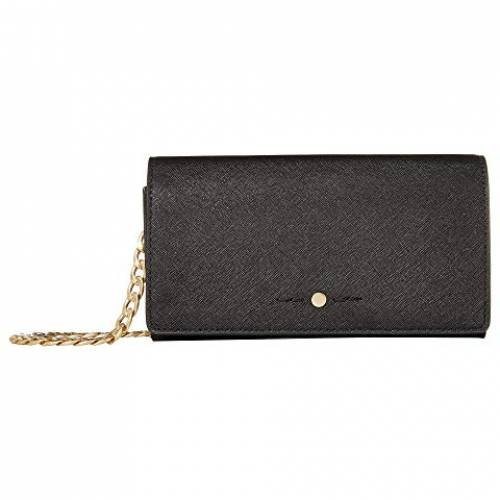 J.CREW ウォレット 財布 バッグ レディース 【 Saffiano Convertible Chain Wallet 】 Black