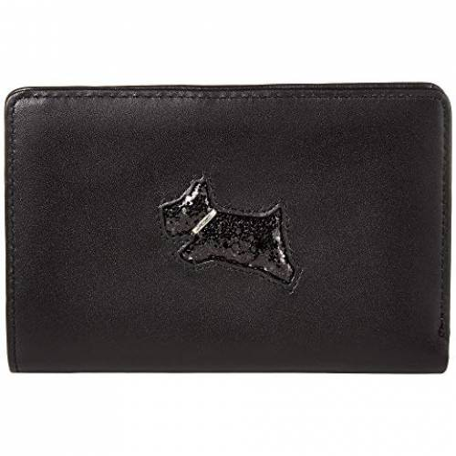 RADLEY LONDON バッグ レディース 【 Heritage Dog - Glitter - Medium Bifold Purse 】 Black