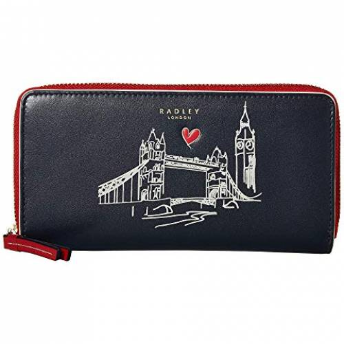RADLEY LONDON アラウンド バッグ レディース 【 London - Large Zip Around Matinee 】 Ink