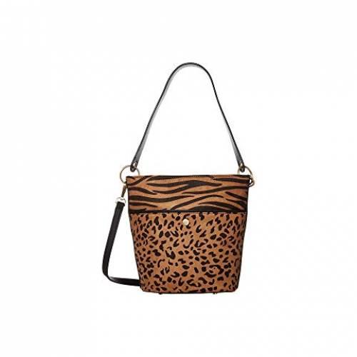 SOLE / SOCIETY バッグ レディース 【 Colia Bucket Bag 】 Brown Leopard