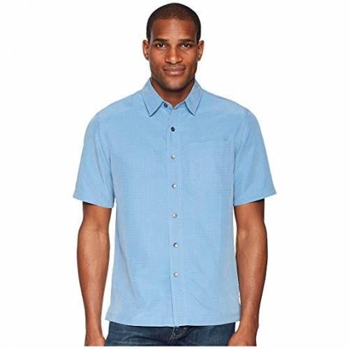 ROYAL ROBBINS 半袖 Tシャツ メンズファッション トップス カットソー メンズ 【 Desert Pucker S/s 】 Parisian Blue