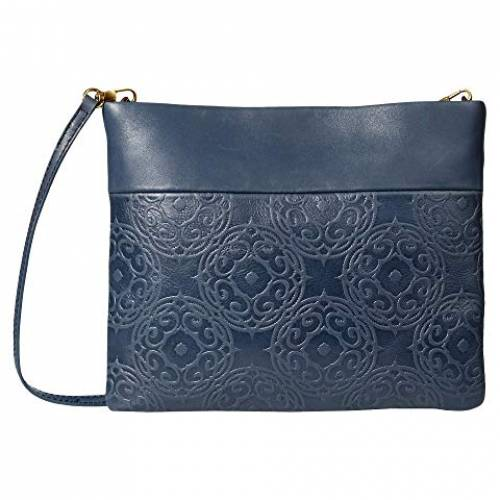 THE SAK バッグ レディース 【 Tomboy Convertible Clutch By Collective 】 Indigo Souk Embossed
