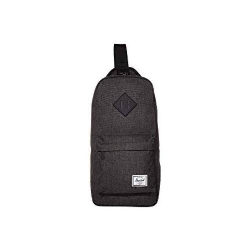 HERSCHEL SUPPLY CO. バッグ ユニセックス 【 Heritage Shoulder Bag 】 Black Crosshatch
