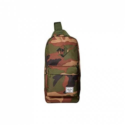 HERSCHEL SUPPLY CO. バッグ ユニセックス 【 Heritage Shoulder Bag 】 Woodland Camo