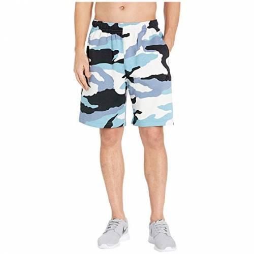 ナイキ NIKE クラブ ショーツ ハーフパンツ メンズファッション ズボン パンツ メンズ 【 Nsw Club Shorts Camouflage 】 Cerulean/black/black
