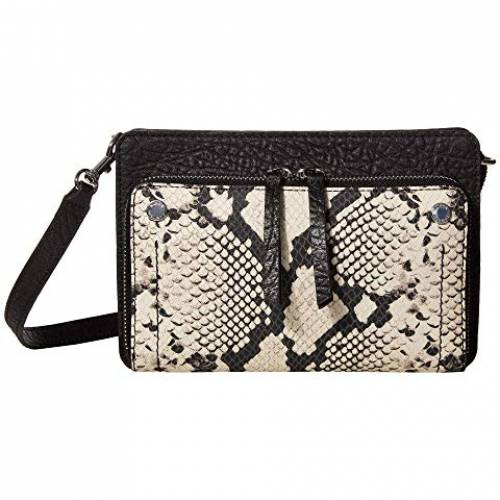 VINCE CAMUTO バッグ レディース 【 Cas Crossbody 】 Black/white Snake